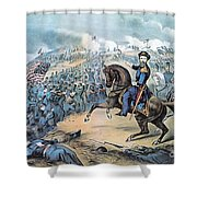 American Civil War, Storming Of Fort Shower Curtain