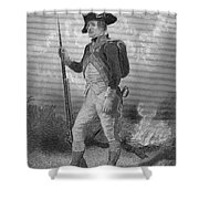 American Continental Soldier Shower Curtain