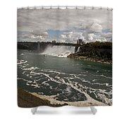 American Falls Shower Curtain