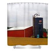 American Farmland Shower Curtain