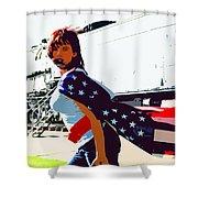 American Girl Shower Curtain