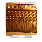 American Gold Automatic Shower Curtain