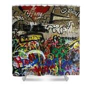 American Graffiti 17- Jake From State Farm Shower Curtain