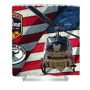 American Hero 1 Shower Curtain