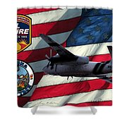 American Hero 2 Shower Curtain