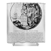 American Independence Shower Curtain