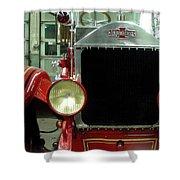 American Lafrance Fire Truck Shower Curtain