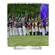 American Line Shower Curtain