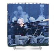 American Night Battle Shower Curtain