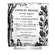 American Pioneer, 1842 Shower Curtain