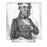 American Schoolmaster Shower Curtain