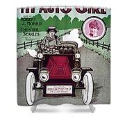 American Song Sheet, 1904 Shower Curtain