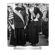 American Suffragists Shower Curtain