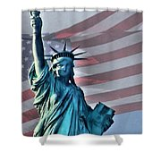American Welcome Shower Curtain