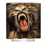 American Werewolf Shower Curtain