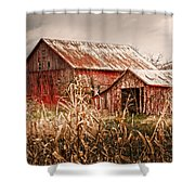 America's Small Farm Shower Curtain