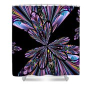Amethyst Affair Shower Curtain