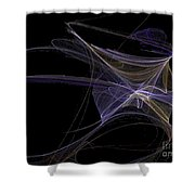 Amethyst Angel Rising Shower Curtain