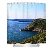 Amherst Rock Shower Curtain