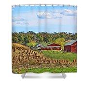 Amish Cornfield Shower Curtain