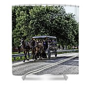 Amish Country - Intercourse Pennsylvania Shower Curtain