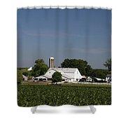 Amish Farm Shower Curtain
