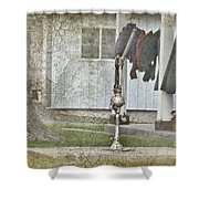 Amish Pump And Cup Shower Curtain