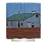 Amish School Shower Curtain
