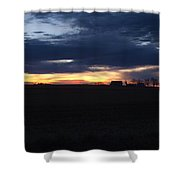 Amish Sunrise Shower Curtain