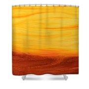 Amoreena's Tree Shower Curtain by Mark Minier