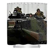 Amphibious Assault Vehicles Make Shower Curtain