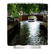 Amsterdam By Boat Shower Curtain