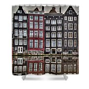 Amsterdam Reflections Hdr Shower Curtain
