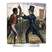 An Abolitionist Shower Curtain