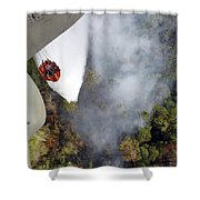 An Air National Guard Unit Provides Air Shower Curtain