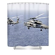 An Airborne Change Of Command Shower Curtain