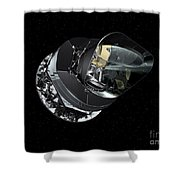 An Artists Concept Of The Planck Shower Curtain