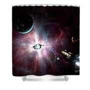 An Enormous Stellar Power Shower Curtain
