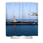 An Mh-60r Sea Hawk Flies Shower Curtain
