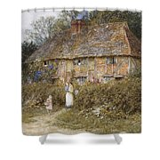 An Old Surrey Cottage Shower Curtain