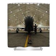 An Rq-4 Global Hawk Unmanned Aerial Shower Curtain