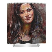 Ana 2012 Shower Curtain