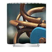 Anchored Down Shower Curtain