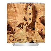Ancient Anasazi Indian Cliff Dwellings Shower Curtain