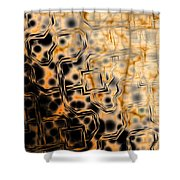 Ancient Circuitry Shower Curtain