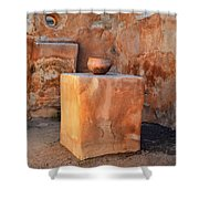 Ancient Granary Pot Shower Curtain