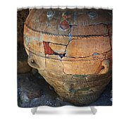 Ancient Relic Of Crete Shower Curtain