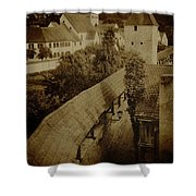 Ancient Surroundings Shower Curtain