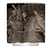 Ancient Warrior Shower Curtain