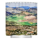 Andalucia Countryside Shower Curtain